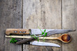 Holzlöffel Messer - 79397223