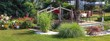 Leinwanddruck Bild - Gartenparadies