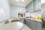 Upscale kitchen in a modern home poster