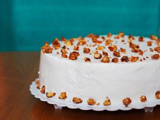 Fancy hazel nut cake