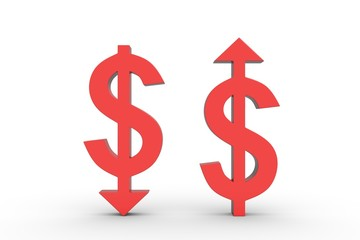 the raising and lowering of the dollar
