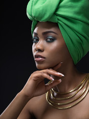 Young african woman