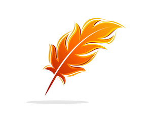 Feather Fire Flaming