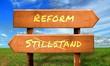 Strassenschild 33 - Reform