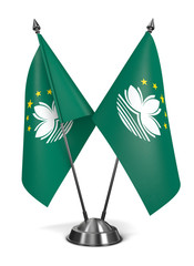 Macau - Miniature Flags.