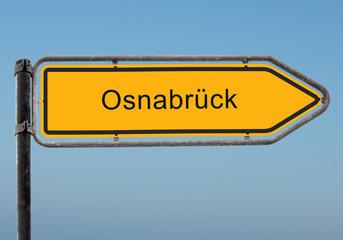 Strassenschild 35 - Osnabrück