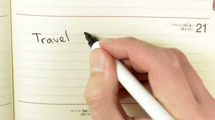 Written record of travel agent meeting