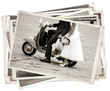 Vintage photos with newlywed - 79407007