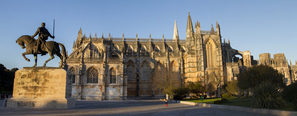 View of the famous landmark, Monastery of Batalha, Portugal. © Mauro Rodrigues