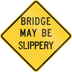 Bridge May Be Slippery