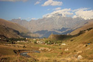 The village near Georgian Military Road