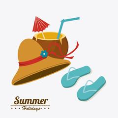 Summer design, vector illustration.