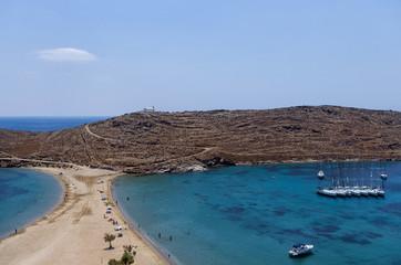 Amazing scenery at Kolona, Kythnos island, Greece