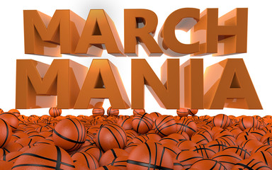 March Mania Basketball Tournament