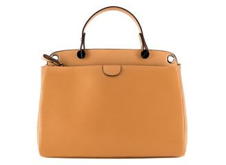 Isolated modern female handbag