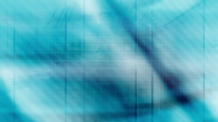 Animated Blue Futuristic Looping Abstract Background