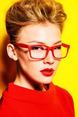 eyewear red