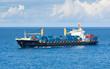 navire porte-conteneurs en mer - 79423860