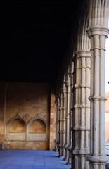 soportal de la basilica de San Vicente en Avila