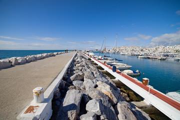 Puerto Banus Marina and Pier in Spain