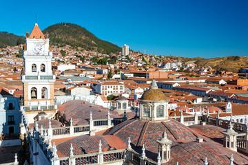 View of Sucre, Bolivia