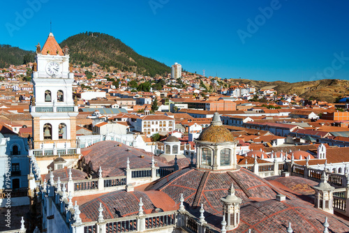 Foto op Canvas Zuid-Amerika land View of Sucre, Bolivia
