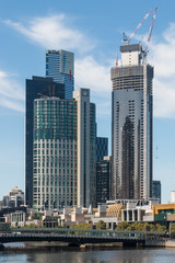 construction of skyscrapers in Melbourne