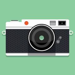 camera, vector illustration