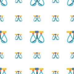 Belaying belt vector background
