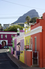 Bo-Kaap the Malay Quarter community in Cape Town South Africa