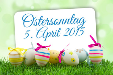 Ostersonntag 5. April 2015