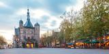 The central square in the Dutch city Deventer