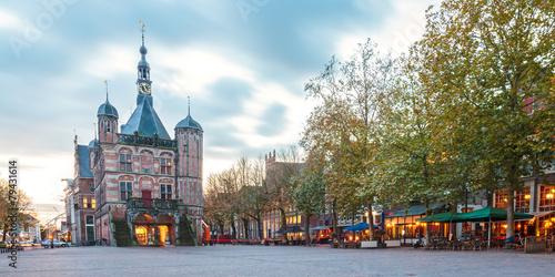 The central square in the Dutch city Deventer - 79431614