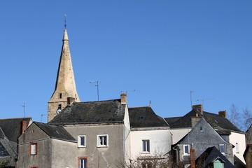 village du bourg d'iré, maine et loire