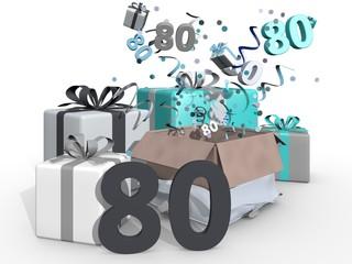 Cadeaus voor man van 80