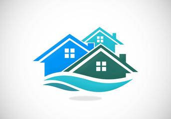 home realty vector logo