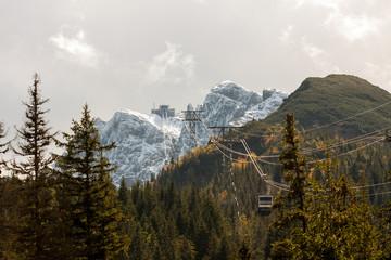 Kasprowy peak in Polish Tatra Mountains