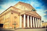 Fototapeta Bolshoi Theatre in Moscow, Russia