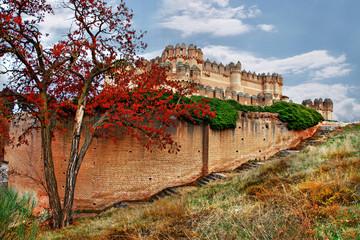 castles of Spain - Coca castle