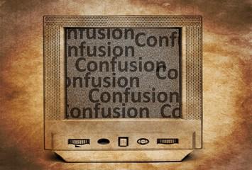 TV confusion