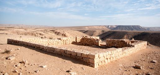 Ancient ruins in Negev Desert