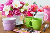 Fototapety Tisch - Dekoration