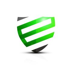 Zielona ikona e-tarczy
