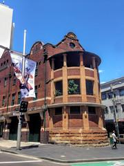 SYDNEY AUSTRALIA - January 09 2015: Fire Station Building