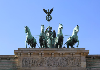 Branderburger Tor (Brandenburg Gate) of Berlin,Germany