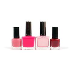 Four nail polish colors