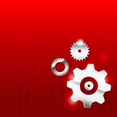 Abstract background 0011 Gear industrial technology