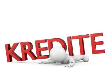 zu viele Kredite