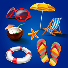 set icons for summer