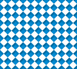White and blue rectangle seamless pattern